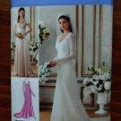 Simplicity Pattern # 1909 UNCUT Misses Bridal Evening Gown Size 14 16 18 20 22