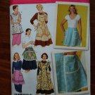 Simplicity Pattern # 4282 UNCUT Misses Retro Vintage Apron Size Small Medium Large