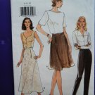 Very Easy Vogue Pattern # 9415 UNCUT Misses Skirt Pants Size 6 8 10