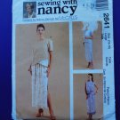 McCalls Sewing with Nancy Pattern # 2641 UNCUT Misses Top Skirt Size 16 18