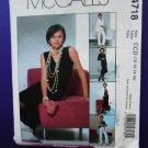 McCalls Pattern # 4718 UNCUT Misses Lined Jacket Skirt Pants Top Size10 12 14 16