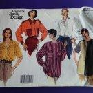 Vogue Pattern # 2735 UNCUT Misses Blouse Variations Size 6 8 10