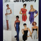 Simplicity Pattern # 7217 UNCUT Misses Formal Dress Variations Size 4 6 8 10