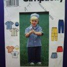 Simplicity Pattern # 7994 UNCUT Boys Toddler Wardrobe Size 2 3 4