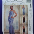McCalls Pattern # 9227 UNCUT Misses Formal Dress Size 4 6 8
