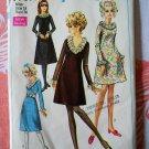 Simplicity Pattern # 7791 UNCUT Misses Dress Size 14 Bust 36 Vintage 1968