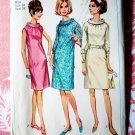 Simplicity Pattern # 7099 UNCUT Misses Dress Vintage 1967 Size 14 Bust 34