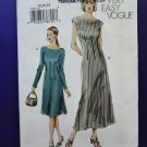 Easy Vogue Pattern # 7749 UNCUT Misses Dress Size 18 20 22
