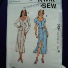 Kwik Sew Pattern # 2434 UNCUT Misses Skirt Tops Size XS Small Medium Large XL