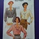 Vogue Pattern # 8423 UNCUT Misses Blouse Size 8 10 12
