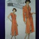 Vogue Pattern # 9991 UNCUT Misses Dress Jacket Size 18 20 22