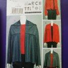 Vogue Pattern # 8653 UNCUT Misses Jacket Wearable Art Marcy Hilton Size Large XL