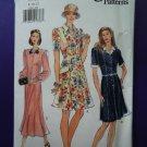 Vogue Pattern # 9268 UNCUT Misses A-Line Summer Dress Size 8 10 12
