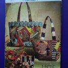 Vogue Pattern # 8273 UNCUT Crazy Quilt Handbag Tote 3 B Randle Designs