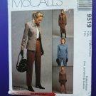 McCalls Pattern # 9519 UNCUT Misses Jacket Pants Skirt Size 18 20 22