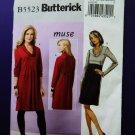 Butterick Pattern # 5523 UNCUT Misses Womans A-Line Dress Size 16 18 20 22 24