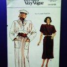 Vogue Pattern # 9366 UNCUT Misses Dress Size 14 16 18