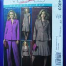 McCalls Pattern # 4930 UNCUT Misses Wardrobe Jacket Dress Pants Size 16 18 20 22