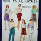 Simplicity Pattern # 7175 UNCUT Skirt Pants Sarong Variations Size Small Medium Large