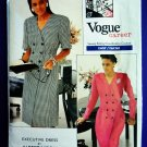 Vogue Pattern # 2028 UNCUT Misses Double Breasted Dress Size 18 20 22