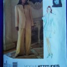 Vogue Pattern # 1548 UNCUT Misses Jacket Top Skirt Pants Size 18 20 22