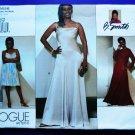 Vogue Pattern # 2656 UNCUT Misses Flared Formal Dress Long Size 18 20 22
