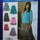 Simplicity Pattern # 4283 UNCUT Misses Skirt Variations Size 10 12 14 16 18