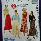 McCalls Pattern # 4258 UNCUT Misses Skirt Variations Size 12 14 16 18