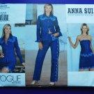 Vogue Pattern # 2666 UNCUT Misses Shirt Top Skirt Pants Size 20 22 24