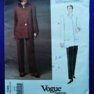 Vogue Pattern # 1486 UNCUT Misses Jacket Pants Geoffrey Beene Size 6 8 10