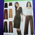 Simplicity Pattern # 4965 UNCUT Misses Pants Skirt Size 4 6 8 10