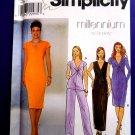 Simplicity Pattern # 8683 UNCUT Misses Knit Dress Pants Size 18 20 22