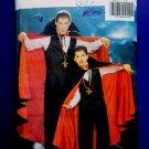 Butterick Pattern # 4971 UNCUT  Men's Costume Dracula Cape S Medium Large