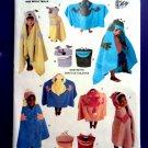 Butterick Pattern # 3488 UNCUT Kids Bath Towels & Mitt CUTE