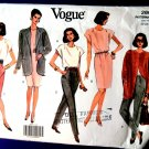 Vogue Pattern # 2660 UNCUT Misses Wardrobe Pants Skirt Top Jacket Size 20 22 24