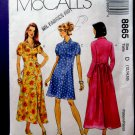 McCalls Pattern# 8865 UNCUT Misses Dress Variations Sleeves Length Size 12 14 16