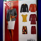 New Look Pattern # 6874 UNCUT Misses Skirt Jacket Tunic Size 8 to 18