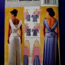 Butterick Pattern # 4129 UNCUT Misses Formal Top Skirt Variations Size 18 20 22
