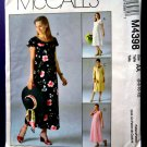 McCalls Pattern # 4398 UNCUT Misses Maternity Dress Size 6 8 10 12