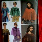 Simplicity Pattern # 4492 UNCUT Misses Cape / Capelet Size Medium Large XL