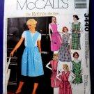 McCalls Pattern # 3440 UNCUT Misses RETRO APRONS Size Small Medium Large XL
