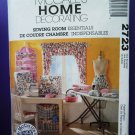 McCalls Pattern # 2723 UNCUT Sewing Room, Machine Cover & Organizers