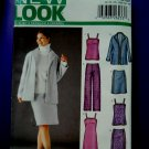 New Look Pattern # 6213 UNCUT Misses Jacket Skirt Pants Top Dress Size 6 8 10 12 14 16
