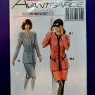 Avantgarde Sewing Pattern # 22305 UNCUT Misses Suit Size 12 14 16 18 20 22
