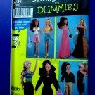 Simplicity Pattern # 5755 UNCUT Fashion Doll Clothes Wardrobe 11 ½ Doll Barbie