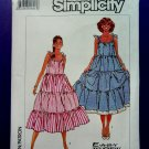 Simplicity Pattern # 8069 UNCUT Misses Tier Dress Size XL (Size 22 24)