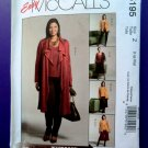 McCalls Pattern # 5195 UNCUT Misses KNIT Wardrobe Jacket Top Skirt Pants Size Large XL