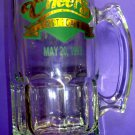 NBC Television TV Show CHEERS Pub Boston Glass Beer Mug Bar