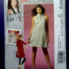 McCalls Pattern # 5512 UNCUT Dress Leggings Size 10 12 14 16 Hillary Duff