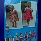 Simplicity Pattern # 2707 UNCUT Baby Toddler Dress Skirt Panties Size XS  Small Medium Large